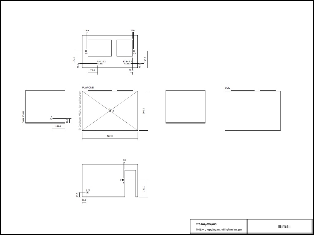 Example room plan